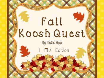 Fall Koosh Quest with Quarter Note Rests