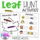 Fall Leaf Observations Preschool
