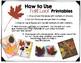 Fall Leaf Printable