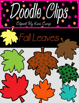 Fall Leaves {Clipart}