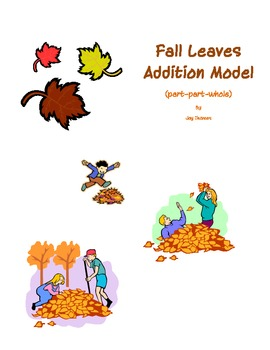 Fall Leaves Addition Model - Part Part Whole