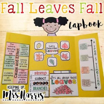 Fall Leaves Fall Lapbook