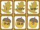 Fall Leaves- Macmillan Kindergarten HFW (Unit SS to Unit 5)