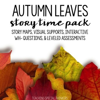 STORY TIME PACK: AUTUMN LEAVES