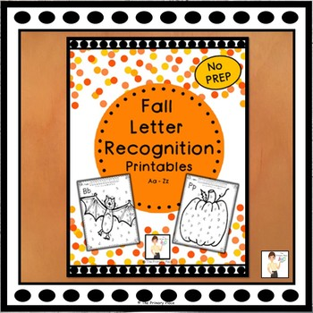 Fall Letter Recognition Printables A to Z