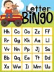 Fall Letter and Number Bingo