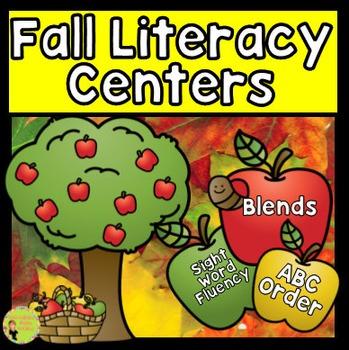Blends, Sight Word Fluency, ABC Order: Fall