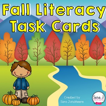 Fall Literacy Task Cards