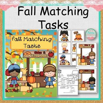 Fall Matching Tasks