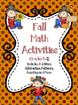 Fall Math Activities K-2