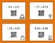 Fall Math: Adding Decimals QR Code Task Cards