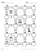 Fall Math: Adding Like Fractions Maze