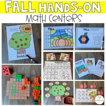 Fall Math Centers {CCSS}