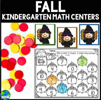 Fall Math Centers K CCSS Aligned {Correlates with Math Exp