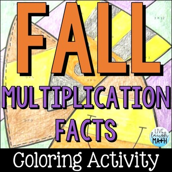 Fall Math Color by Number FREE