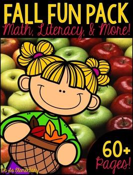 Fall Math, Literacy, & MORE!