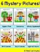 Fall Math Hundreds Chart Mystery Pictures - Autumn Math