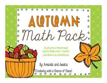 Fall Math Pack