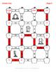 Fall Math: Subtracting Three 2-Digit Subtraction Maze