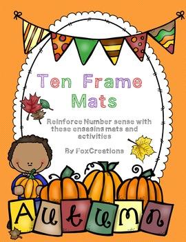Fall Math Ten Frames