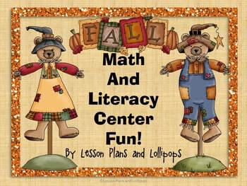 Fall Math and Literacy Center Fun!