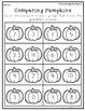 Fall Math and Literacy-Kindergarten