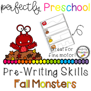 Fall Monsters Prewriting Skills {Dollar Deal}