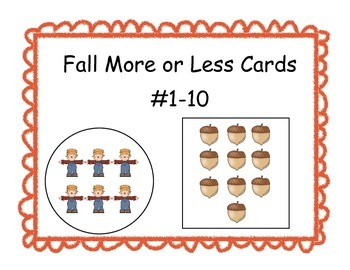 Fall More or Less Cards