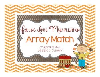 Fall Multiplication Array Match