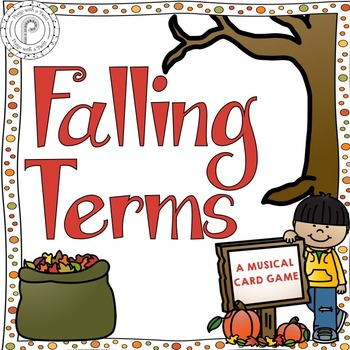 Fall Music Game: Falling for Terms