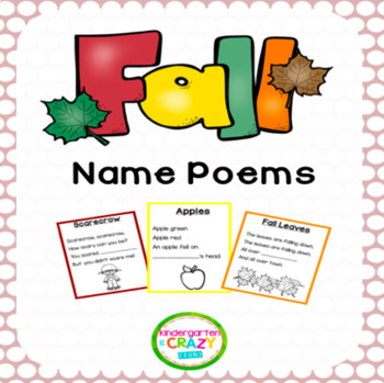 Fall Name Poems
