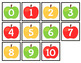 Fall Number Matching Folder Games for students with Autism