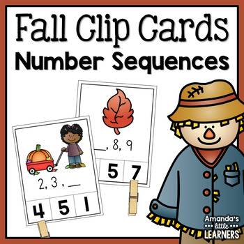 Fall Number Sequencing