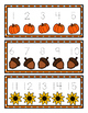 Fall Number Tracing Cards 1-30