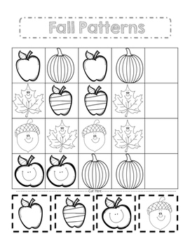 Fall Pattern Activity