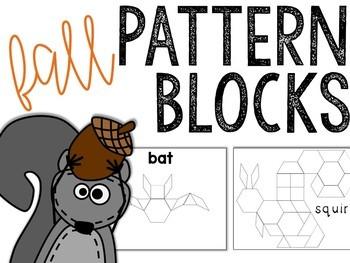 Fall Pattern Block Puzzles