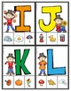 Fall Phonics:  Matching Letters and Sounds, Clip Cards for