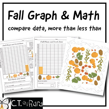Fall Graph: Fall Plants and Seeds Graphing - FREE