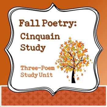 Fall Poetry: Cinquain Study