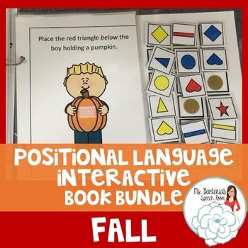 Positional Vocabulary: Fall