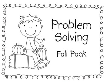 Fall Problem Solving Pack
