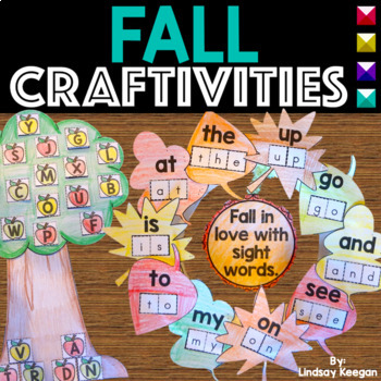 Fun and Festive Fall Projects - Sight Words, Alphabet and