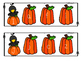 Fall Pumpkin Alphabet Match Clip Cards