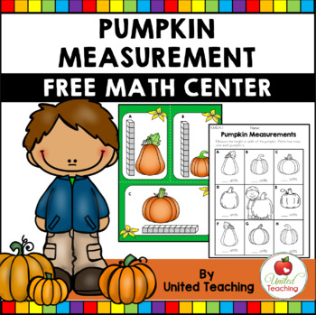 Fall Pumpkin Measurement Math Center