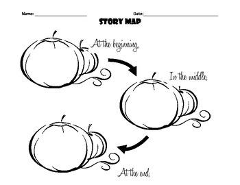 Fall Pumpkin Story Map