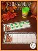 Fall Pumpkin Ten Frames
