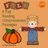 Fall Reading Comprehension Bundle of Non-fiction Passages