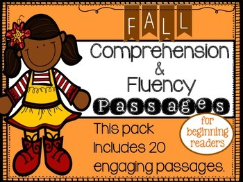 Fall Reading Comprehension and Fluency Passages
