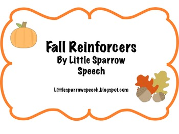 Fall Reinforcers