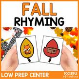 Fall Rhyming Game